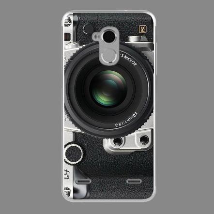 Чехол с картинкой (силикон) для ZTE Blade V7 Lite Фотоаппарат