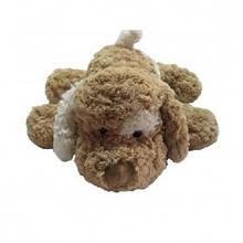 Мягкая игрушка «Grand» (3201GCC) собака коричневая белое ухо, 32 см
