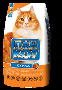 Корм для котів ПАН КОТ куриця 10кг