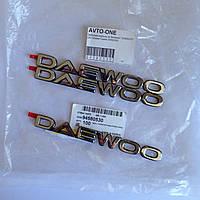 "Эмблема - надпись на багажник ДЭУ ""DAEWOO"" GM 94580530"