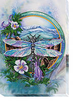 Набор для вышивки бисером на холсте Акварели лета-3 AB-503