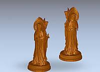 3д модель будды, фото 1