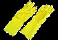 Перчатки резиновые хозяйственные (LATEXS) размер M