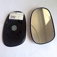Стекло правого зеркала 8 зажимов Ланос Сенс korea car 02-9007-g