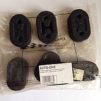 Подвеска глушителя резиновая толстая прямая Авео Ланос Сенс GUMEX 96181437