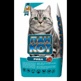 Корм для котів ПАН КОТ риба 10кг