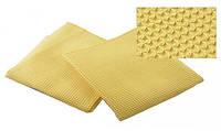 Полотенце вафельное синтетическое желтое, фото 1