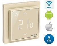 Терморегулятор DEVIreg™ Smart Ivory Wi-Fi