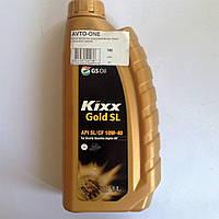 Масло моторное полуситетическое 10W40 1 литр KIXX Gold SL