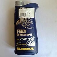 Масло трансмиссионное полусинтетическое 1 литр 75W85 MANNOL
