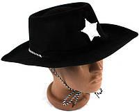 """Карнавальная шляпа """"Шериф"""" пластиковая"""