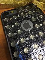 Объемный силиконовый чехол 3D iPhone 6SPlus/6Plus, Silver
