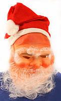 "Маска резиновая ""Дед Мороз"""