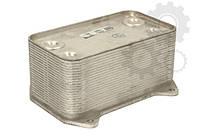 Масляный радиатор (теплообменник) к DAF CF85/XF95 (NISSENS)