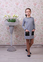 Качественное детское платье с кармашками