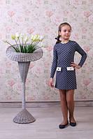 Оригинальное детское платье из качественного материала