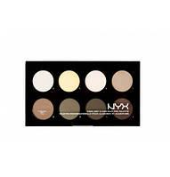 NYX HCPP01 Highlight & Contour Pro Palette - Палетка для макияжа лица