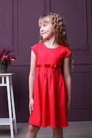 Красивое трикотажное платье-сарафан