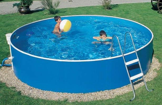 Сборный бассейн Mountfield Azuro Basic 301 (Ø4,6м \ 15000л \ h=0,9м) с фильтром 2000