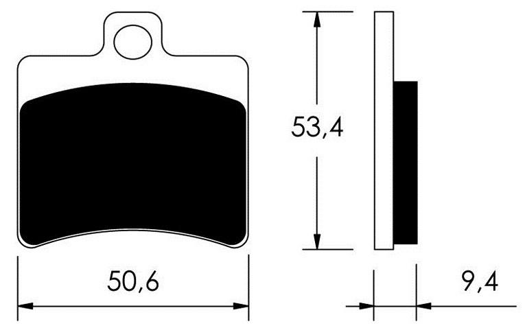 Тормозные колодки Braking 840SM1