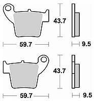 Тормозные колодки Braking 886CM46