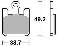 Тормозные колодки Braking 893CM66