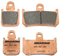 Тормозные колодки Braking 928CM55