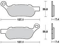Тормозные колодки Braking 944CM88