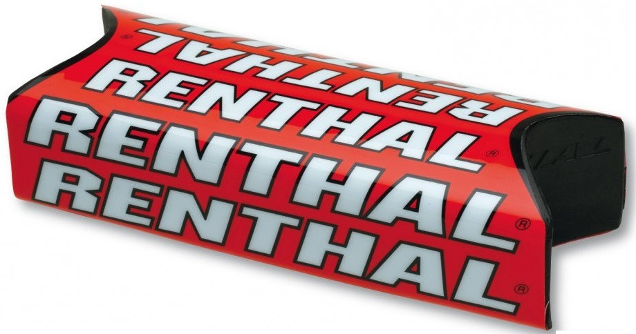 Защитная подушка на руль Renthal Team Issue Fatbar Pad Red