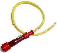 Колпачок свечи зажигания универсальный прямой c с проводом 500 мм. NGK 8539 / SY11