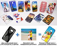 Печать на чехле для HTC 10 (One M10) (Cиликон/TPU)