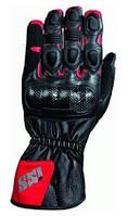 Мотоперчатки IXS Novara черный красный S