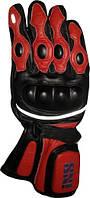 Мотоперчатки IXS Spider черный красный S