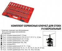 Ключи для разборки стоек (набор)