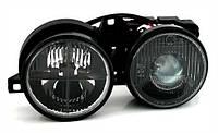Кресты в фары типа Хелла Блек, Hella Black BMW Е30/32/34
