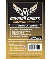 Протекторы (кармашки) Mayday Диксит (80 мм х 120 мм) (Ultra-Fit Magnum Gold Dixit sleeves (80 мм х 120 мм))