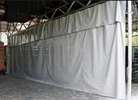 Шторы для утепления ворот на складе, цеха и гараже