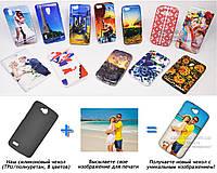 Печать на чехле для Huawei Honor 3c Lite (Cиликон/TPU)