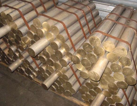Пруток бронзовый ОЦС555 Ф20, 25, 30, 35, 40 порезка доставка купить цена