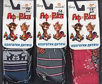 Колготки детские махровые х/б Африка, Мисюренко, Cotton 450 Den, 14 размер, 86-92 см, 2-3 года