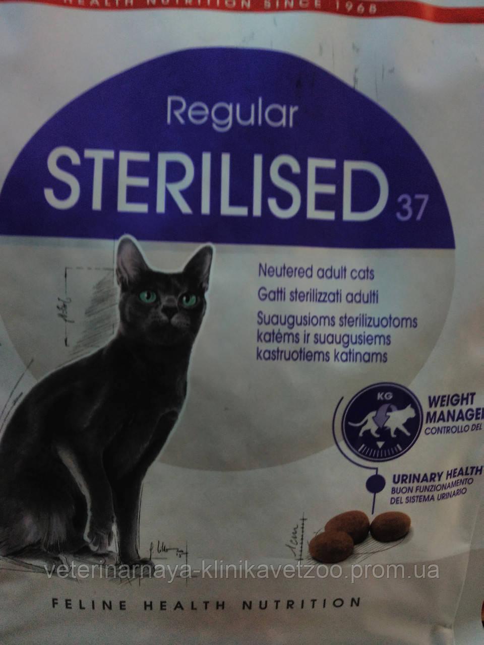 RoyalCanin(Sterilised)корм для стерелизованных котов и кошек от 1 до 7 лет.400г,2кг,4кг.