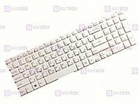 Оригинальная клавиатура для ноутбука Sony Vaio SVF153, SVF15A, SVF15A100C series, rus, white