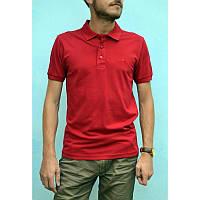 Красная мужская футболка поло из хлопка ZERMON