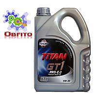 """Масло моторное синтетическое """"TITAN GT 1 PRO C -3 5W-30"""", 4л"""