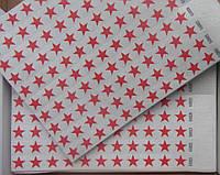 Контрольные браслеты на руку TYVEK красная звезда