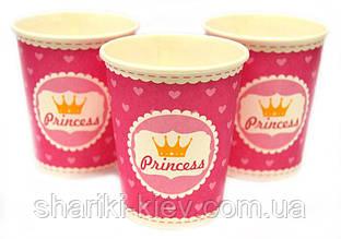 Набор стаканчиков Принцесс 10 шт. бумажные на День рождения