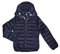Куртки двухсторонние для девочек оптом, Glo-Story, 134/140-170 рр., арт.GMA-3377