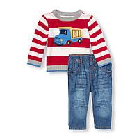 Комплект свитер и джинсы 6-9 мес
