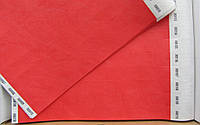 Контрольные браслеты на руку TYVEK красный с талоном