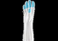 Перчатки резиновые хозяйственные 30 см дельфин